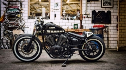Yamaha XV950 Yardbuilt umbau Bopper The Face by Kingston