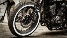 Yamaha xv950 Umbau weisswand reifen bopper